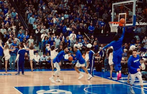 Rupp Arena, section: 30, row: CC, seat: 15