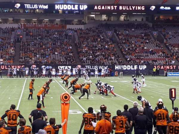 BC Place, section: 242, row: E, seat: 5