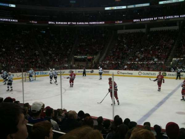 PNC Arena, section: 120, row: H, seat: 1