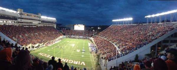 Lane Stadium, section: 504, row: J, seat: 16