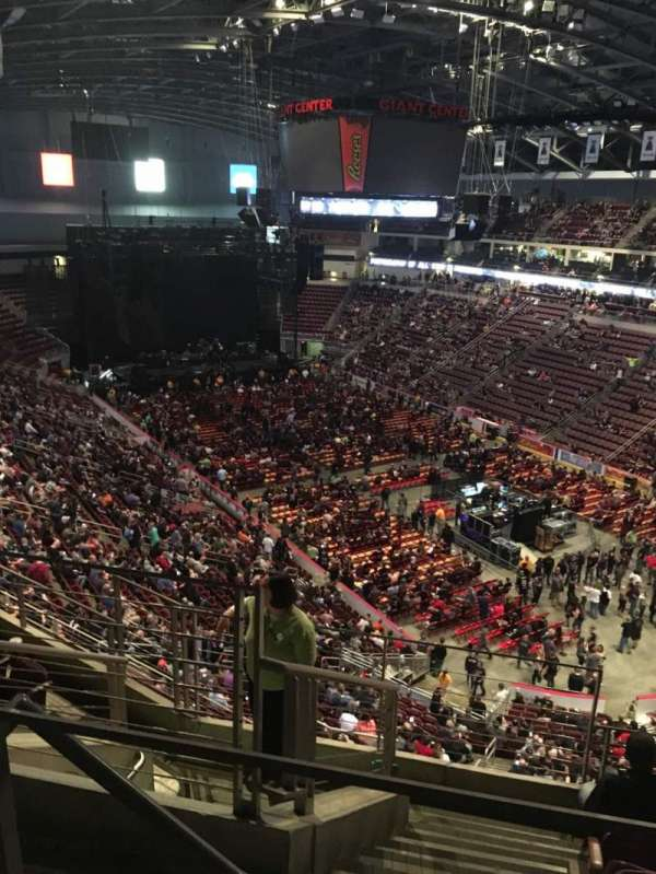 Giant Center Section 224 Home Of