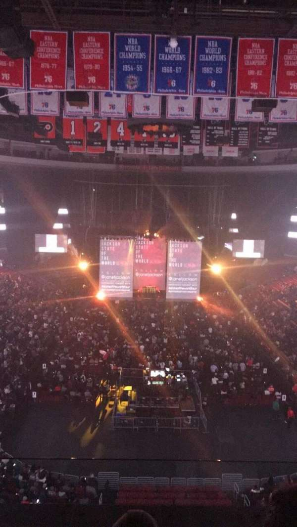 Wells Fargo Center, section: 207, row: 3, seat: 10