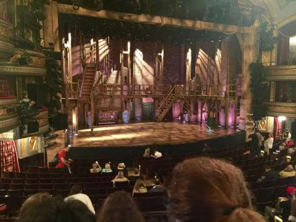 Richard Rodgers Theatre, section: Orchestra L, row: Q, seat: 9