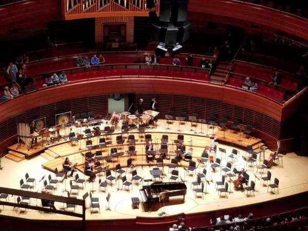 Verizon Hall at the Kimmel Center, section: Balcony, row: F, seat: 134