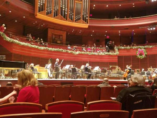 Verizon Hall at the Kimmel Center, section: Orchestra, row: J, seat: 13