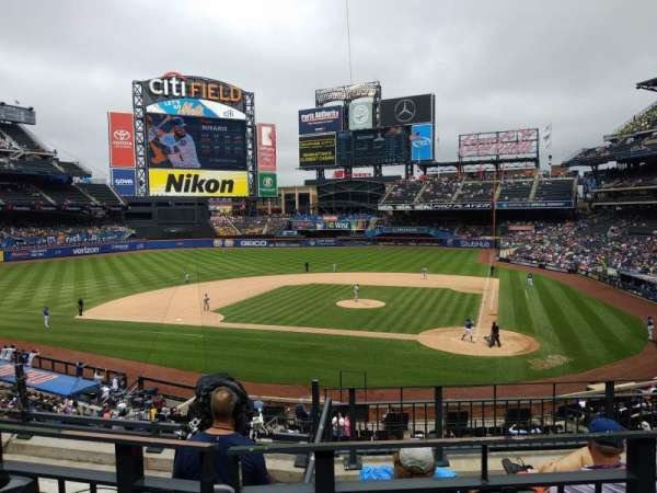 Citi Field, section: 119, row: 5, seat: 10