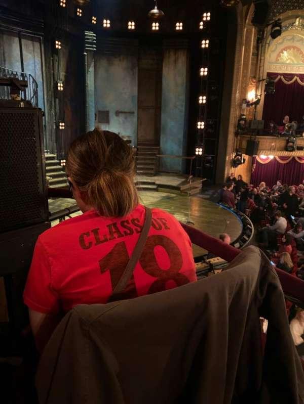 Walter Kerr Theatre, section: Box B, row: 1, seat: 4