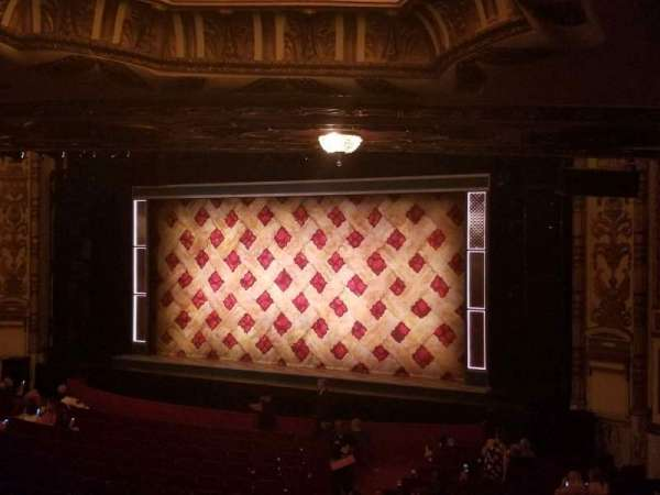 Cadillac Palace Theater, section: DressCircle Far Right, row: LL, seat: 6
