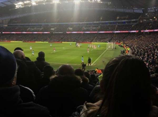 Etihad Stadium (Manchester), section: 121, row: z, seat: 581