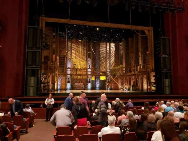 Ziff Ballet Opera House at the Arsht Center, section: Orchestra, row: L, seat: 101