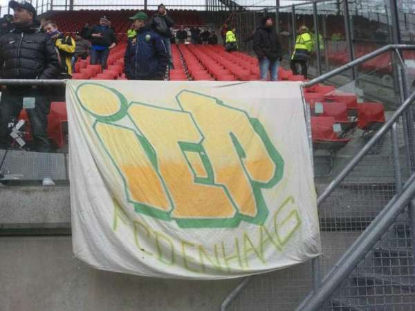 Stadion Galgenwaard, section: Uitvak, row: 39, seat: 26