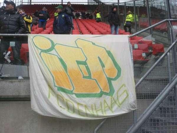 Stadion Galgenwaard, section: Uitvak, row: 1, seat: 2