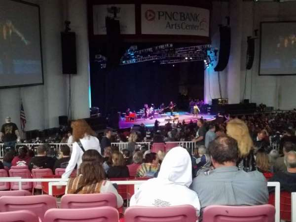 PNC Bank Arts Center, section: 405, row: J, seat: 7
