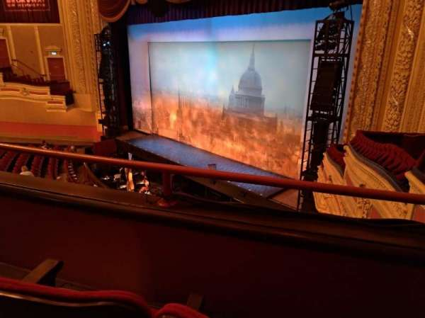 Orpheum Theatre (Minneapolis), section: Balcony 8, row: B, seat: 3