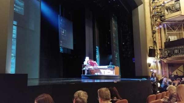 Music Box Theatre, section: Orchestra L, row: E, seat: 17