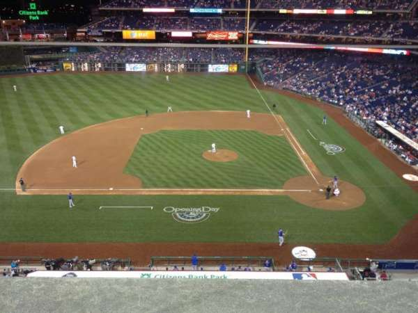 Citizens Bank Park, section: 325, row: 1, seat: 20