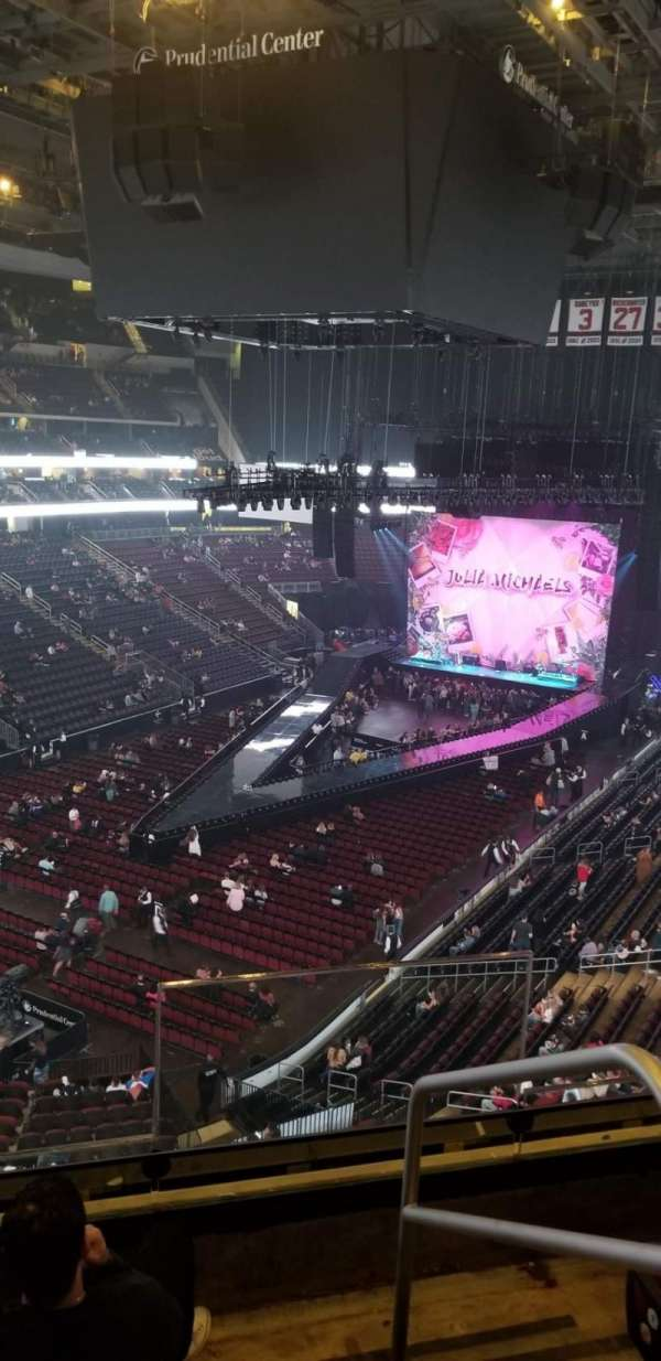 Prudential Center, section: 104, row: 4, seat: 1