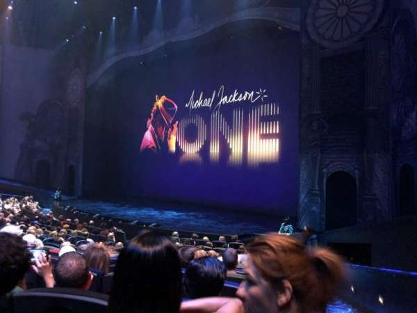 Michael Jackson One Theatre, section: 103, row: N, seat: 14