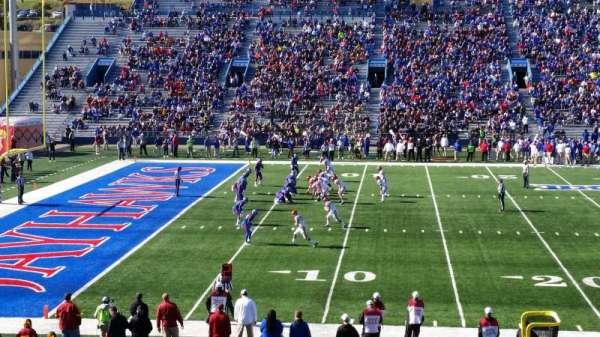 David Booth Kansas Memorial Stadium, section: 23, row: 28, seat: 28