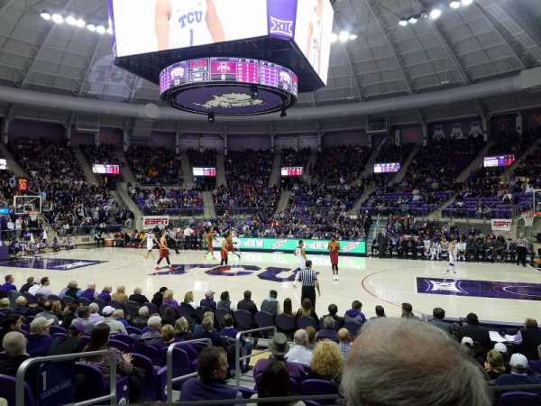 Schollmaier Arena, section: 101, row: B, seat: 5