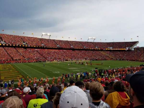 Jack Trice Stadium, section: 3, row: 25, seat: 7