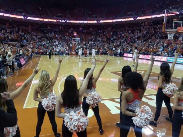 Frank Erwin Center, section: 39, row: 3, seat: 3