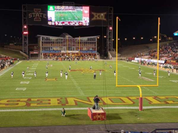 Jack Trice Stadium, section: 21, row: 28, seat: 25