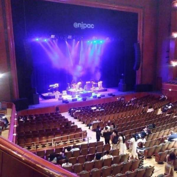 Prudential Hall at the New Jersey Performing Arts Center, section: Tier 1, row: A, seat: 4