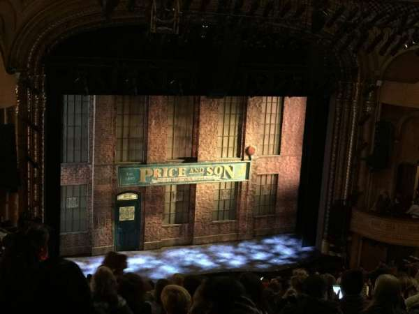 Al Hirschfeld Theatre, section: Mezzanine L, row: Q, seat: 15