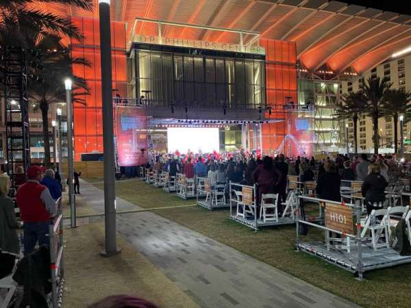 FrontYard Festival at Dr Phillips Center, section: 200, row: J