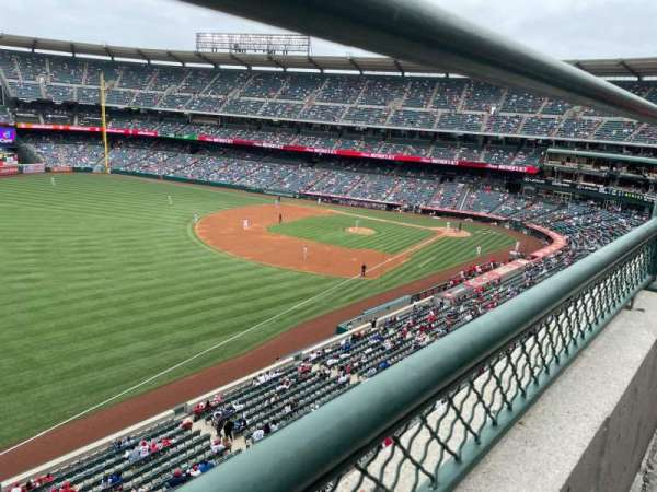 Angel Stadium, section: V407, row: A, seat: 14