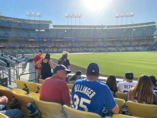 Dodger Stadium, section: 48FD, row: D, seat: 7