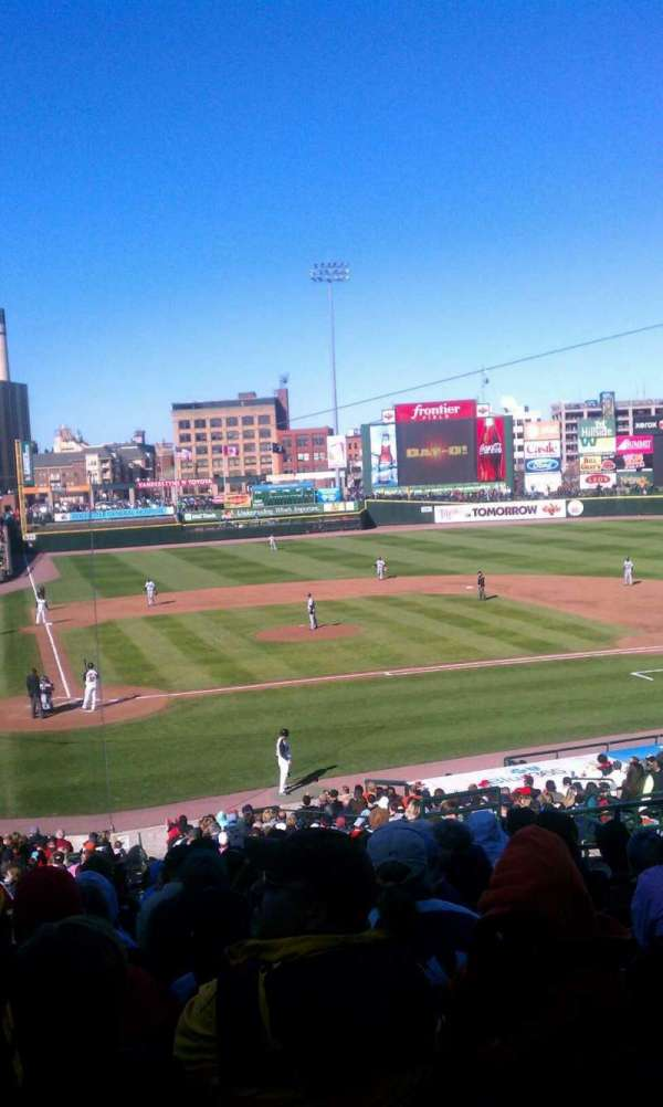 Frontier Field, section: 210, row: L, seat: 8