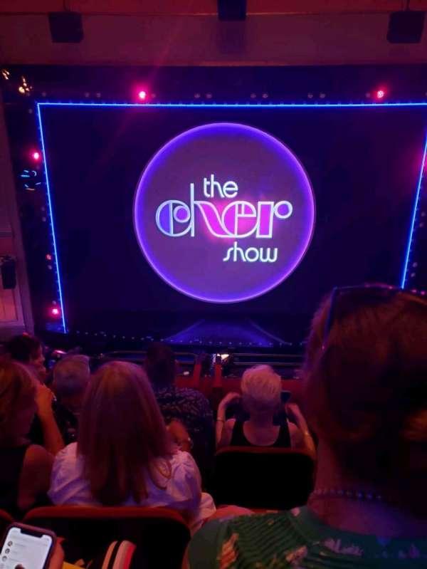 Neil Simon Theatre, section: Front Mezzanine C, row: D, seat: 113