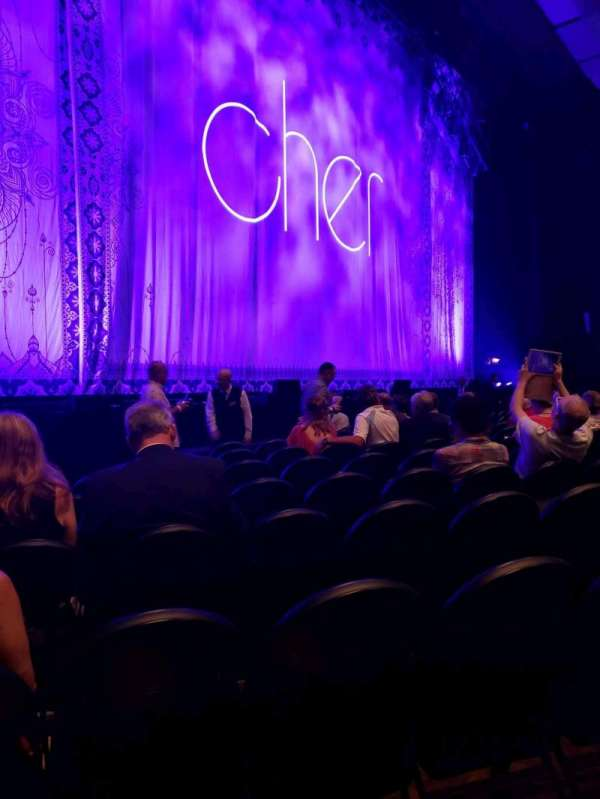Park Theater at Park MGM, section: 103, row: K, seat: 18
