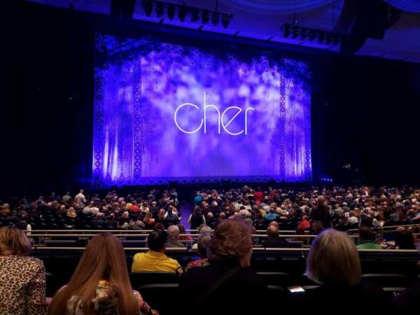 Park Theater at Park MGM, section: 204, row: K, seat: 9