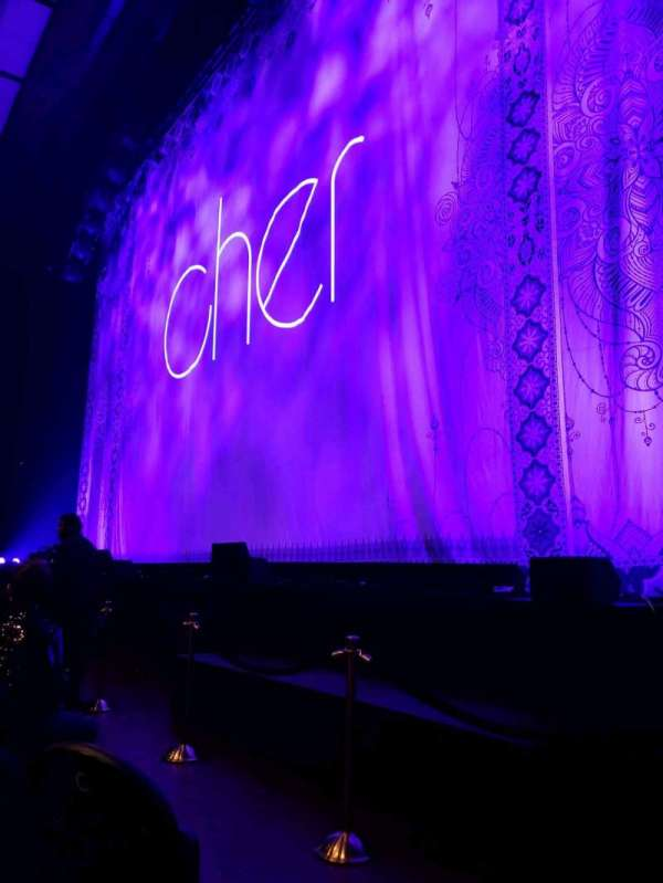 Park Theater at Park MGM, section: 101, row: E , seat: 14