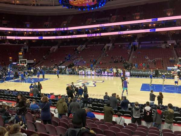 Wells Fargo Center, section: 114, row: 11, seat: 11