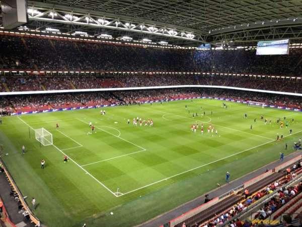 Principality Stadium, section: U36