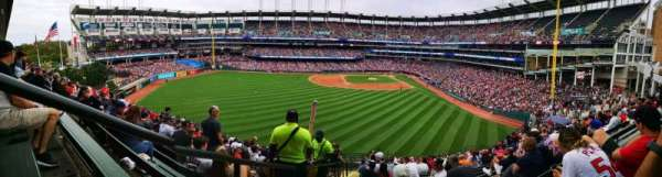Progressive Field, section: 181, row: X, seat: 30