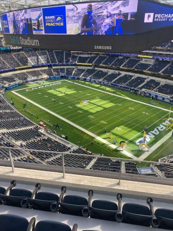 SoFi Stadium, section: 451, row: 4, seat: 11