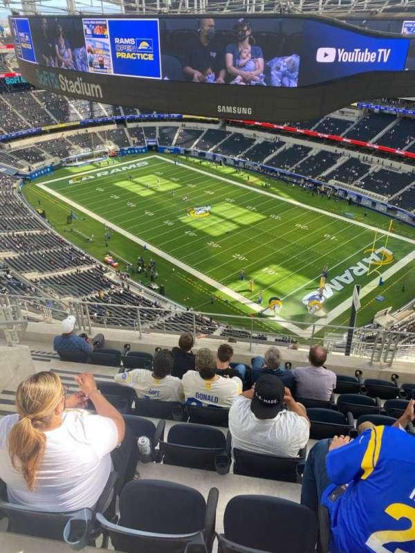 SoFi Stadium, section: 548, row: 7, seat: 15