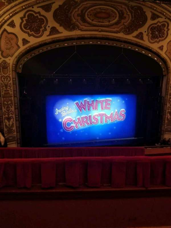 Cadillac Palace Theater, section: Balcony LC, row: E, seat: 306