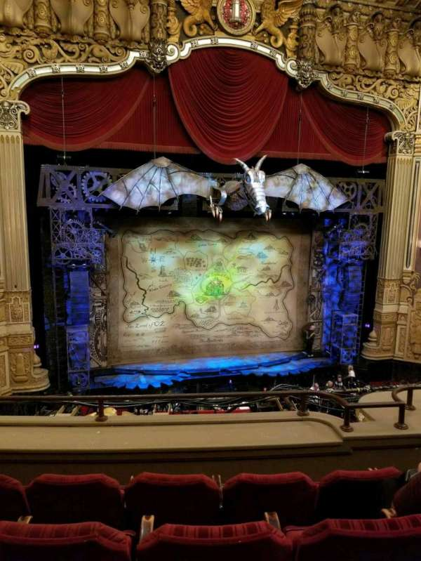 Oriental Theatre, section: LOGE LC, row: D, seat: 330