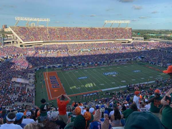 Camping World Stadium, section: 239, row: DD, seat: 5