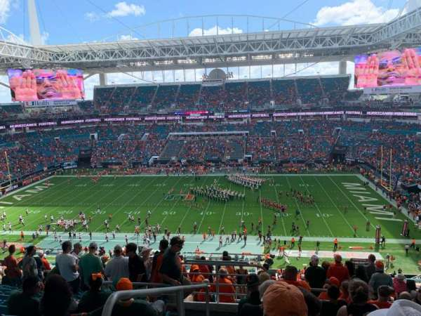 Hard Rock Stadium, section: 316, row: 16, seat: 24