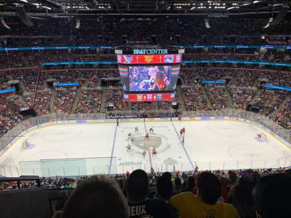 BB&T Center, section: 318, row: 7, seat: 18