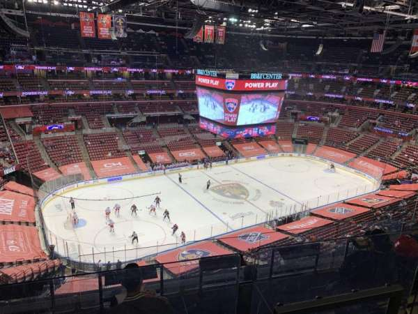 BB&T Center, section: 321, row: 6, seat: 8