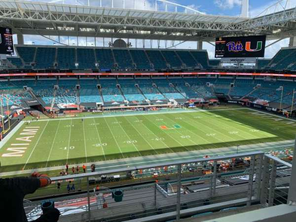 Hard Rock Stadium, section: 349, row: 5, seat: 4
