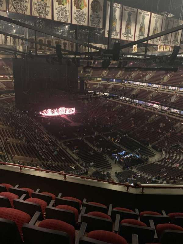 United Center, section: 312, row: 12, seat: 13